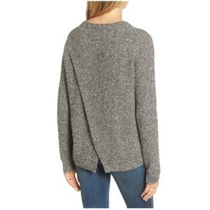 Madewell Province Cross Back Knit Pullover XL